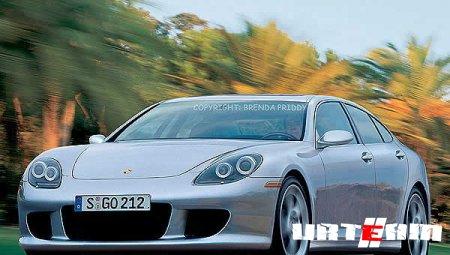 Porsche Panamera превратили в «Моби Дик»