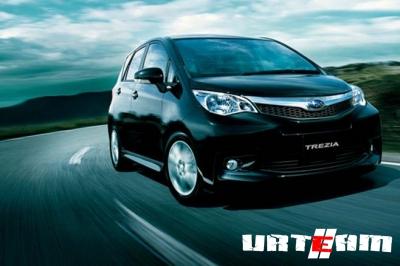 Subaru Trezia появится весной в Европе