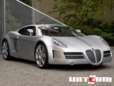 Bertone готовит концептуальный Jaguar