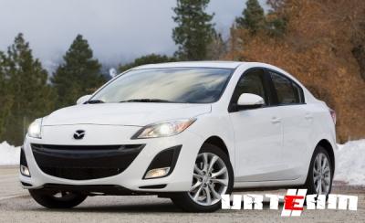 Mazda3 2012 пережила очередное обновление