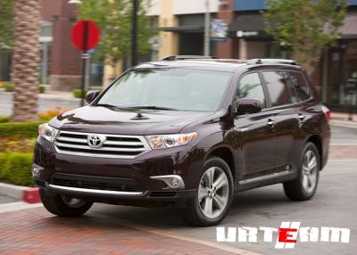Toyota Highlander впервые официально представлена в СНГ