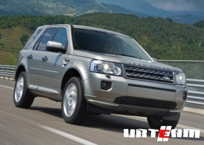 Обновленный Land Rover Freelander