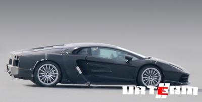 Появились новые фотографии преемника суперкара Lamborghini Murcielago