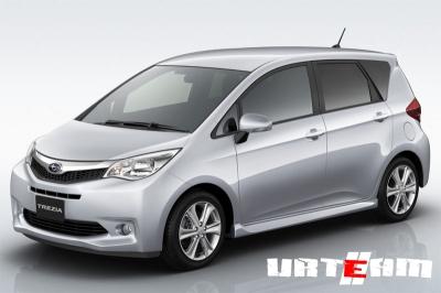 Женевский автосалон 2011: Премьера Subaru Trezia