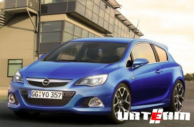 Opel отправил на испытания в Скандинавию новый Astra OPC