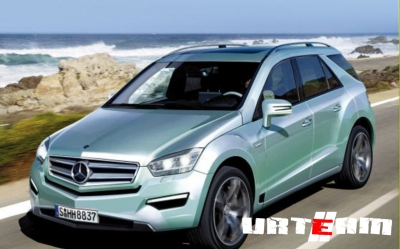 Новый Mercedes-Benz ML-класса растерял «камуфляж»