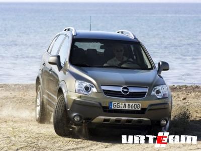 Opel Antara стал тише и экономичнее