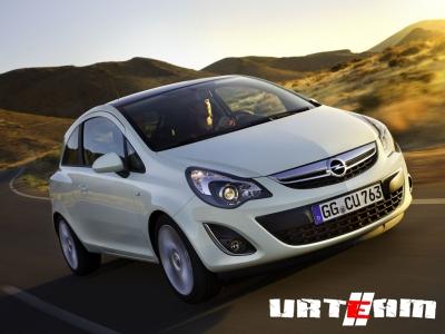 Обновленный автомобиль Opel Corsa