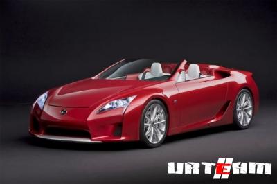 На NYIAS-2011 Lexus устроит показ нового LF-Gh