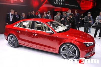 Audi A3 вновь стал концептом