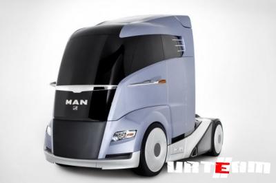 Ганноверская премьера от MAN: дизайн MAN Concept S