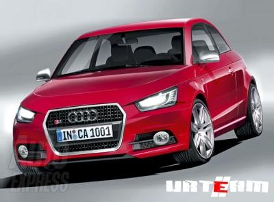 Audi S1 спрятали от папарацци в Дубае