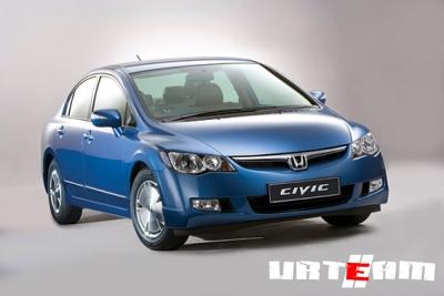 Honda Civic следующего поколения совершает моцион по Пикадилли