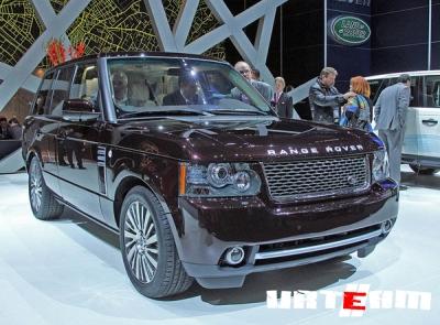 В Россию едет самый дорогой Range Rover