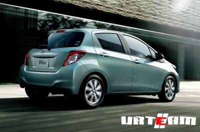 Toyota оценил новый Yaris