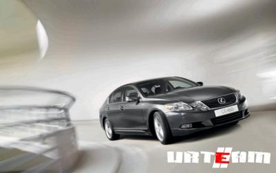 Lexus GS «позеленел» к осени