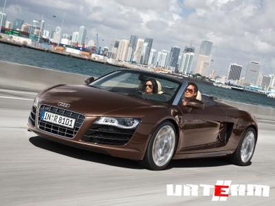 Audi сделает R8 самым легким спорткаром в своем классе