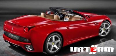 Ferrari сделает California мощнее и легче