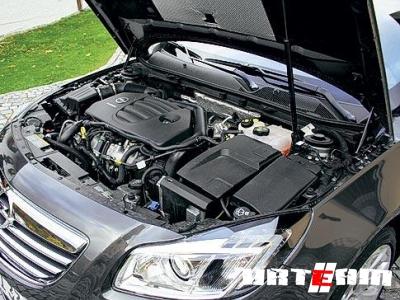 Высокофорсированный дизельный двигатель от Opel
