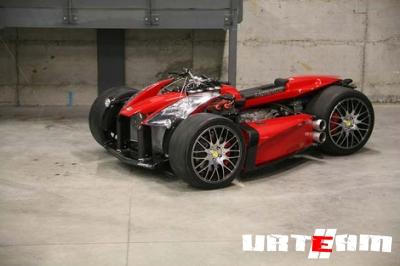 Мотор от Ferrari будет разгонять квадроцикл