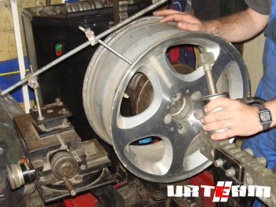 О ремонте литых дисков