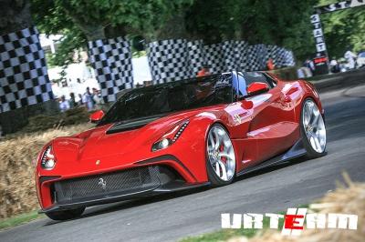 Удивительная Ferrari Berlinetta TRS