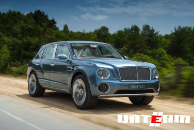 Bentley Falcon удивит мощью