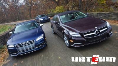 Audi и Mercedes протестируют робокары «вживую»